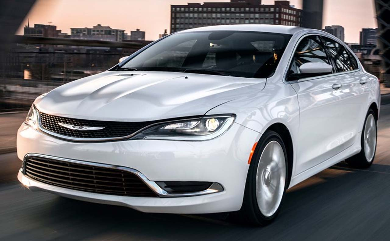 2017 chrysler vehicles exterior 200 white