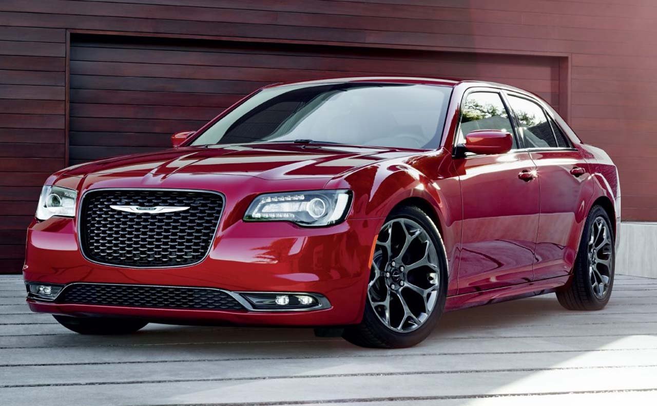 2017 chrysler vehicles exterior 300 front