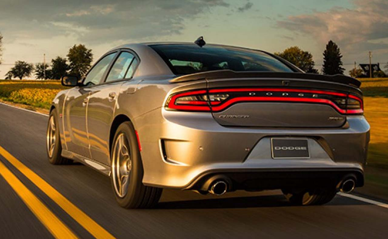 2017 dodge charger exterior rear