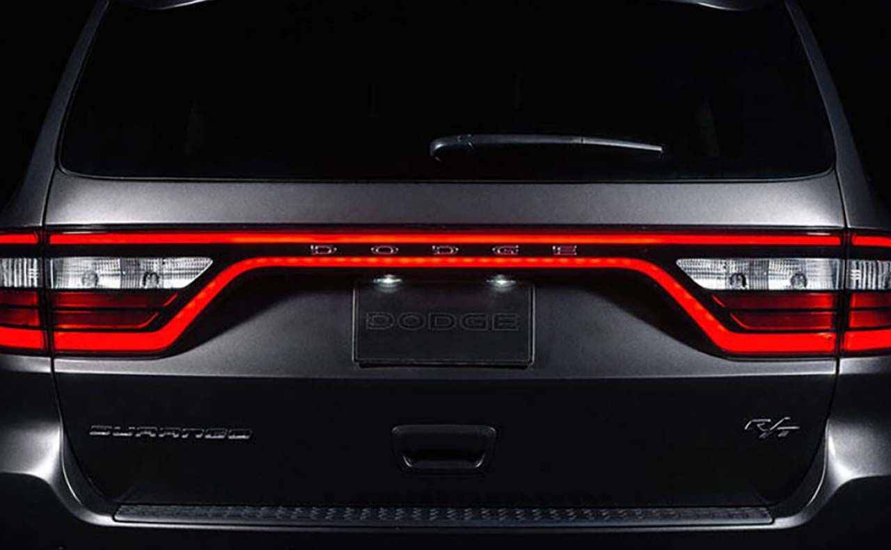 2017 dodge durango exterior rear