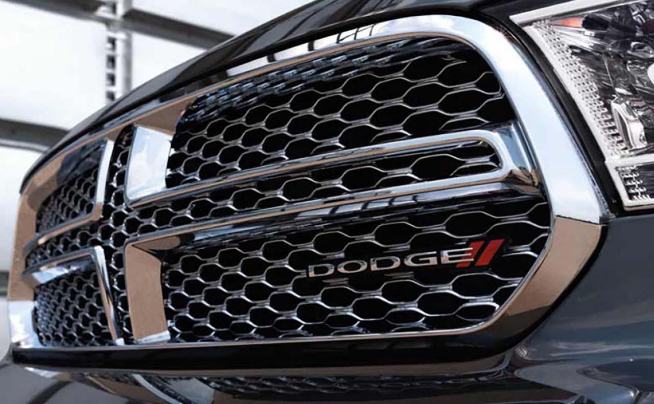 2017 dodge durango exterior silver grille