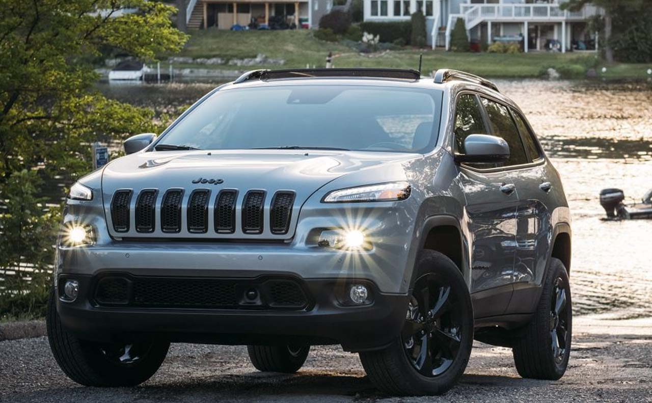 2017 jeep cherokee exterior grille lights