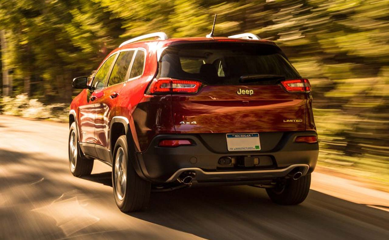 2017 jeep cherokee exterior rear