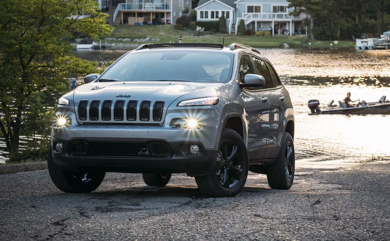 2017 jeep cherokee sale exterior grille light