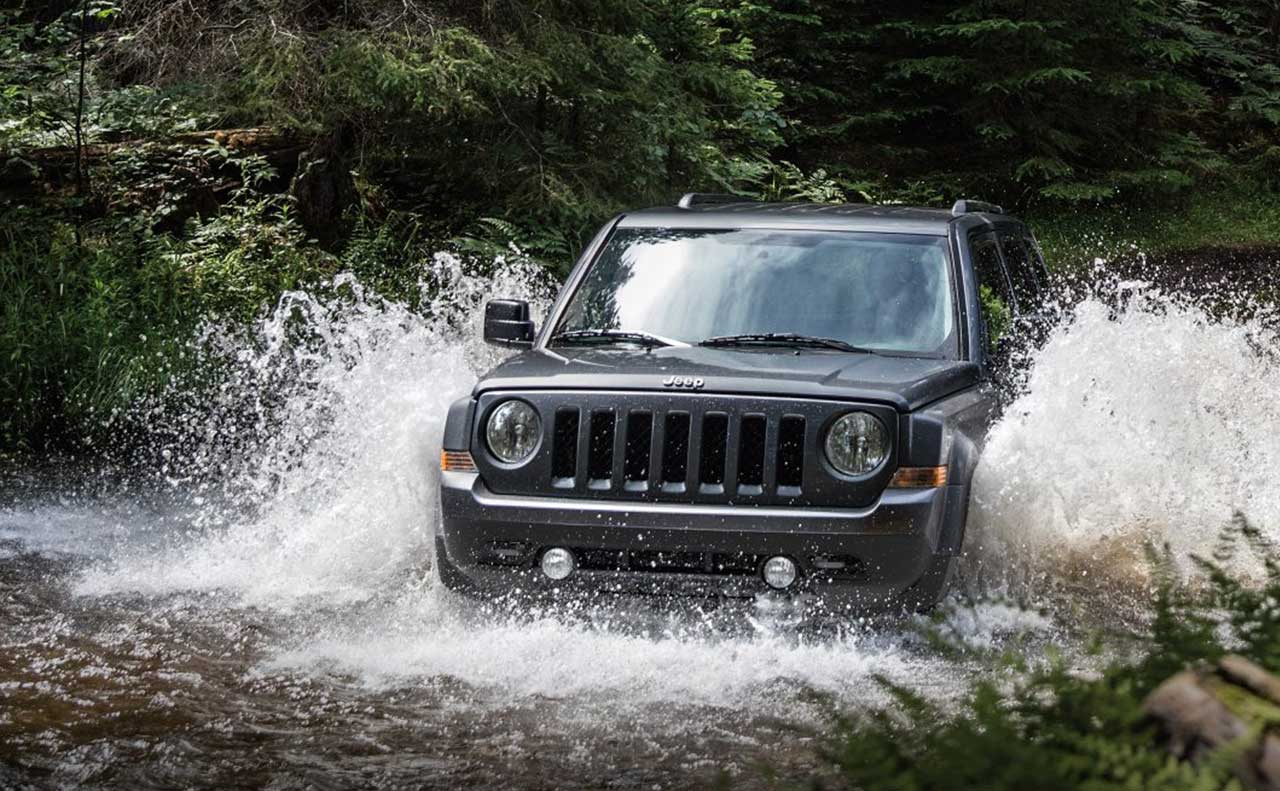 2017 jeep exterior for sale driving through river