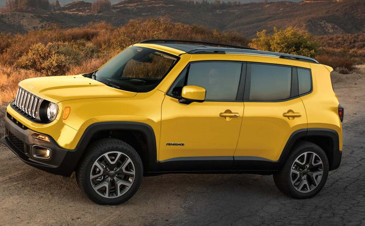 2017 jeep renegade exterior yellow driver