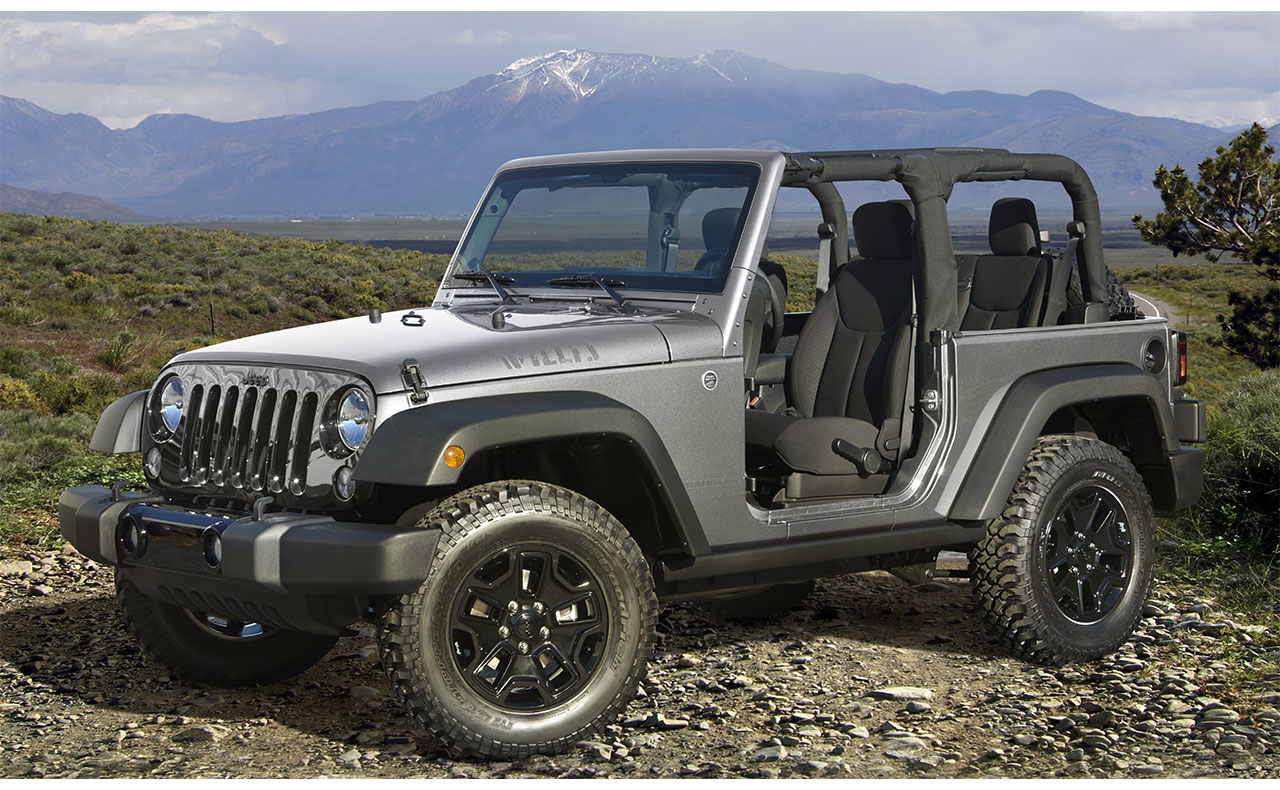 2017 jeep wrangler exterior no doors rims