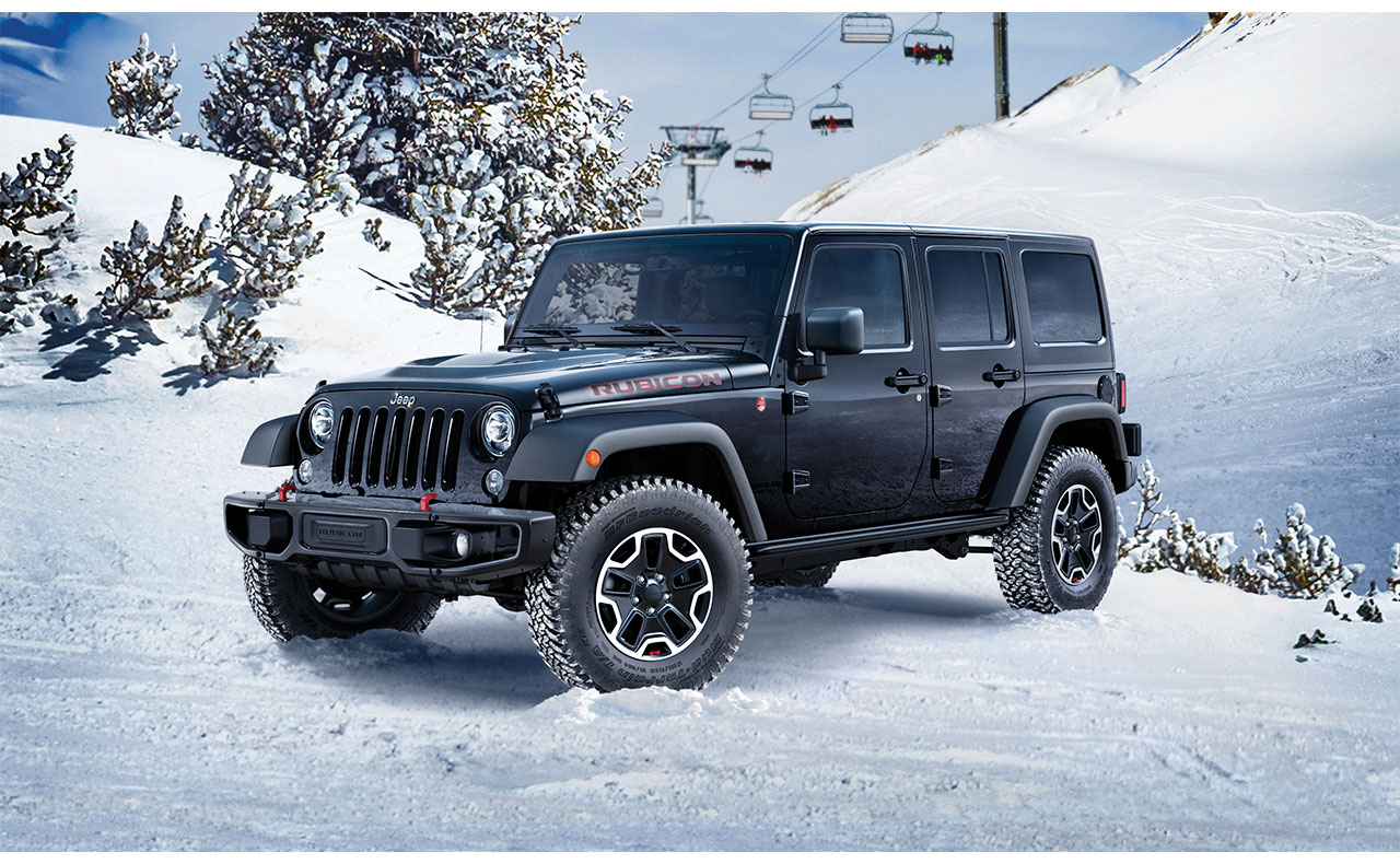 2017 jeep wrangler exterior rubicon doors black snow
