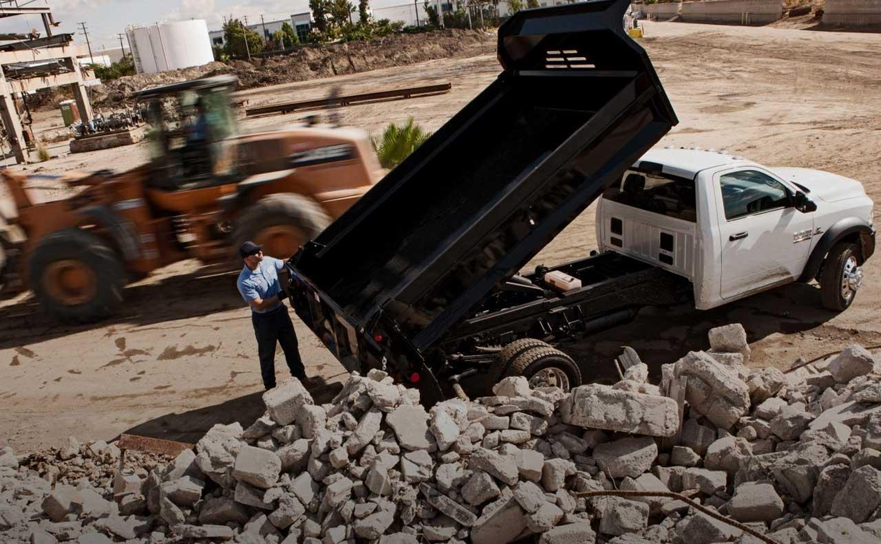 2017 ram 4500 sale dump truck rocks
