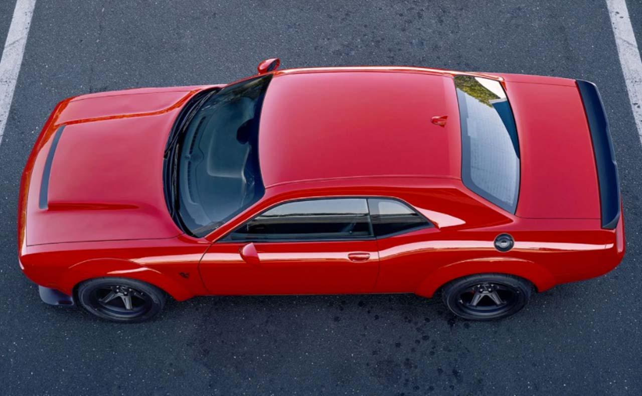 2018 dodge challenger sale exterior top