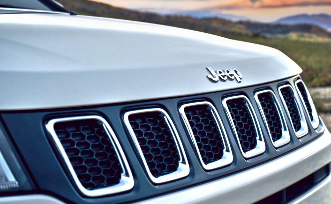 2018 jeep compass exterior grille