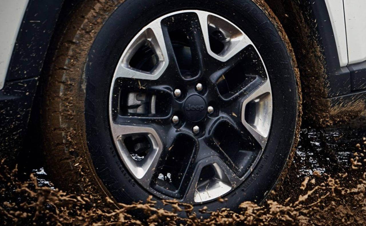 2018 jeep compass exterior rims two tones