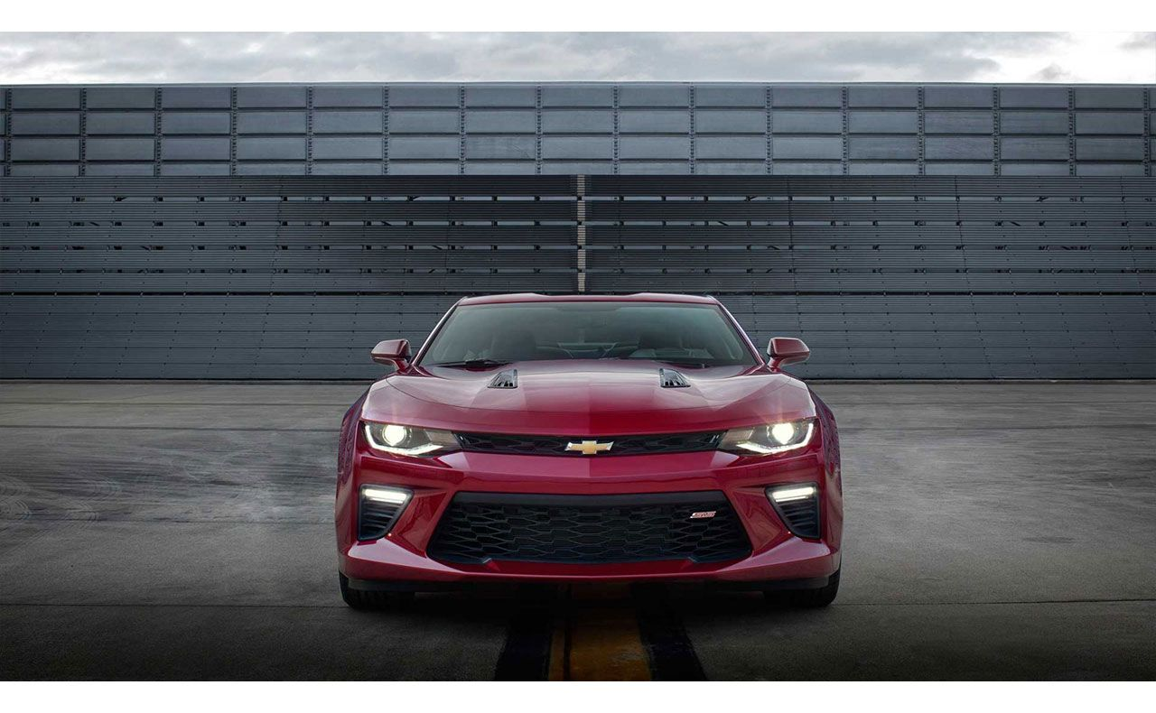 2016 chevrolet camaro exterior red zoomed lights-compressor