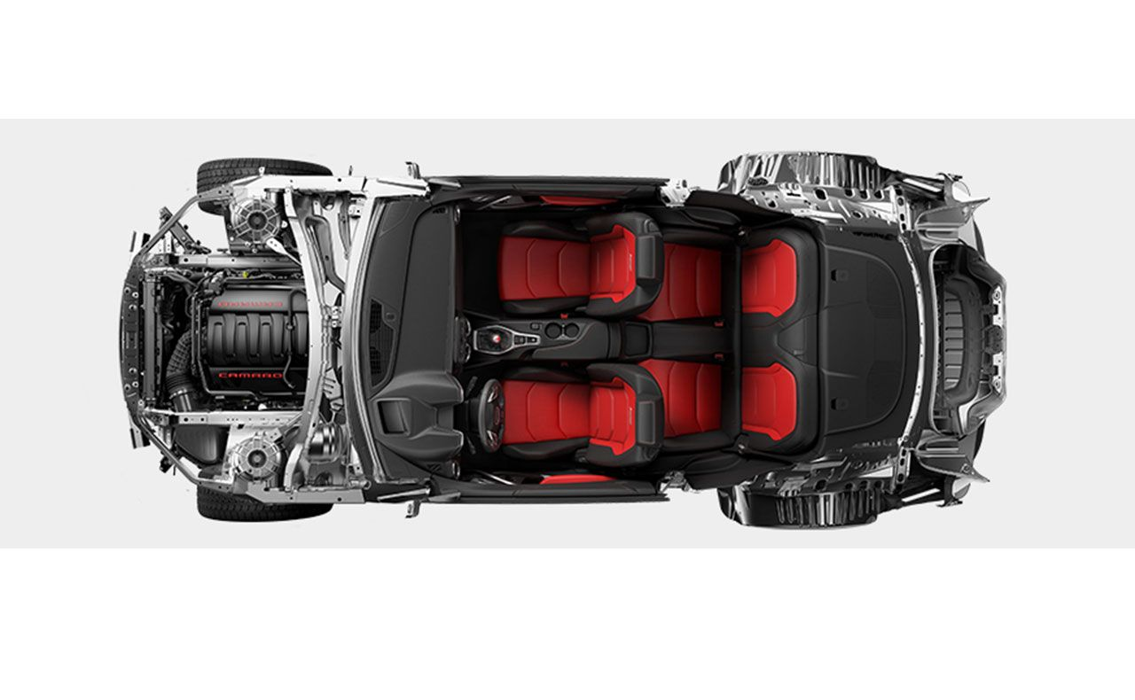 2016 chevrolet camaro exterior three facing forward-compressor