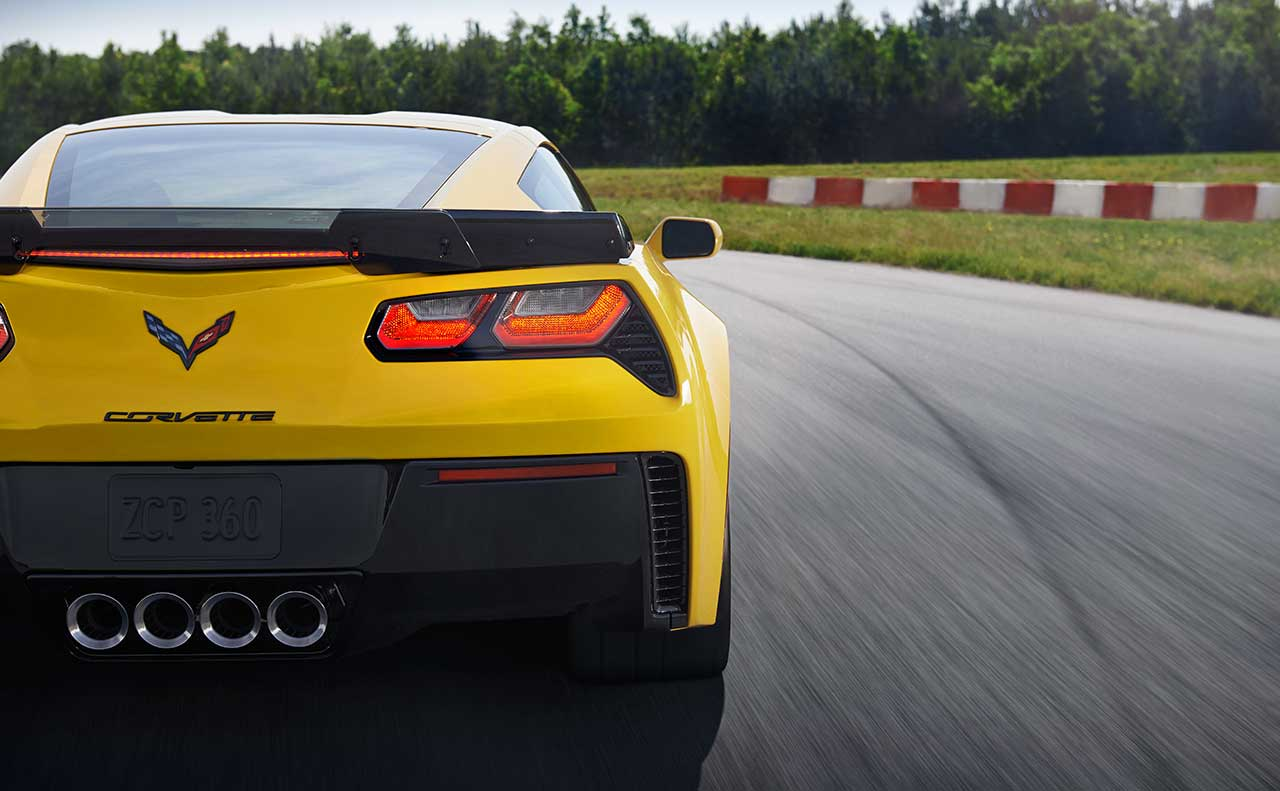 chevrolet corvette exterior rear
