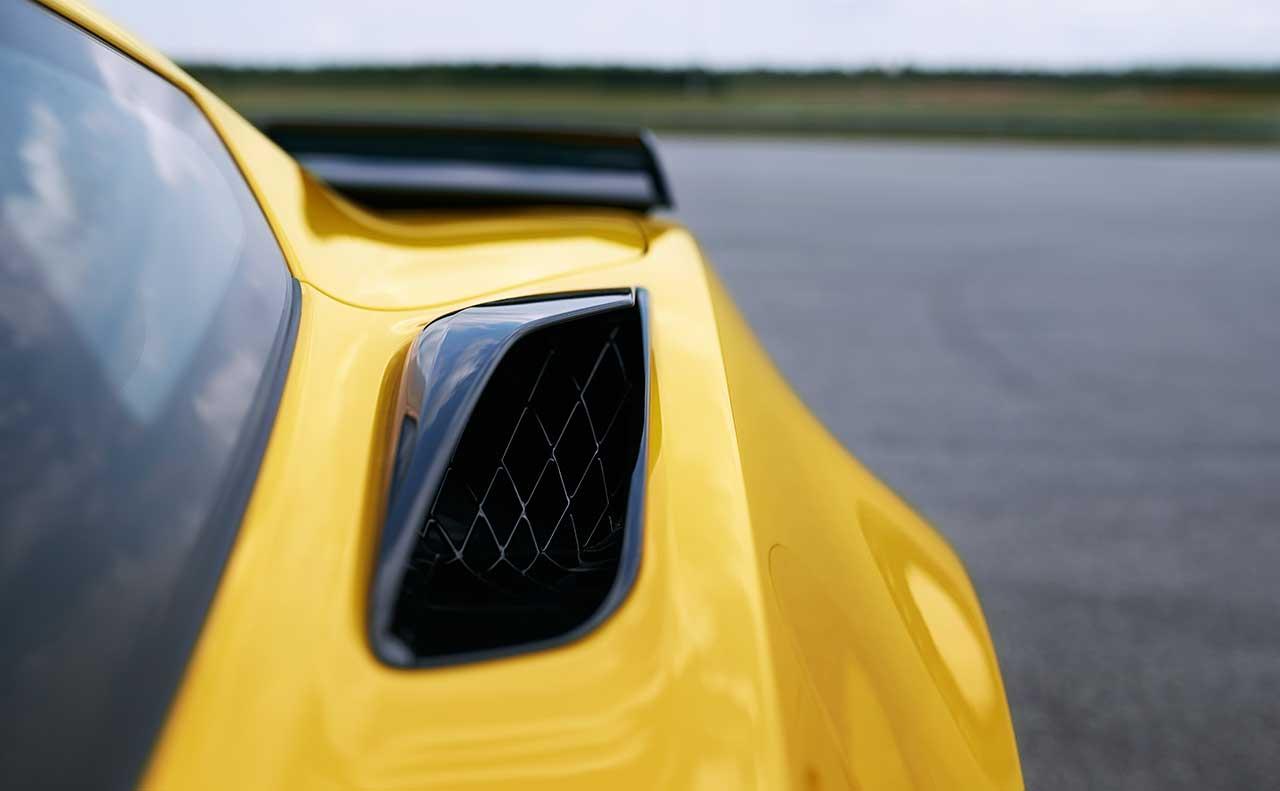 chevrolet corvette exterior fender