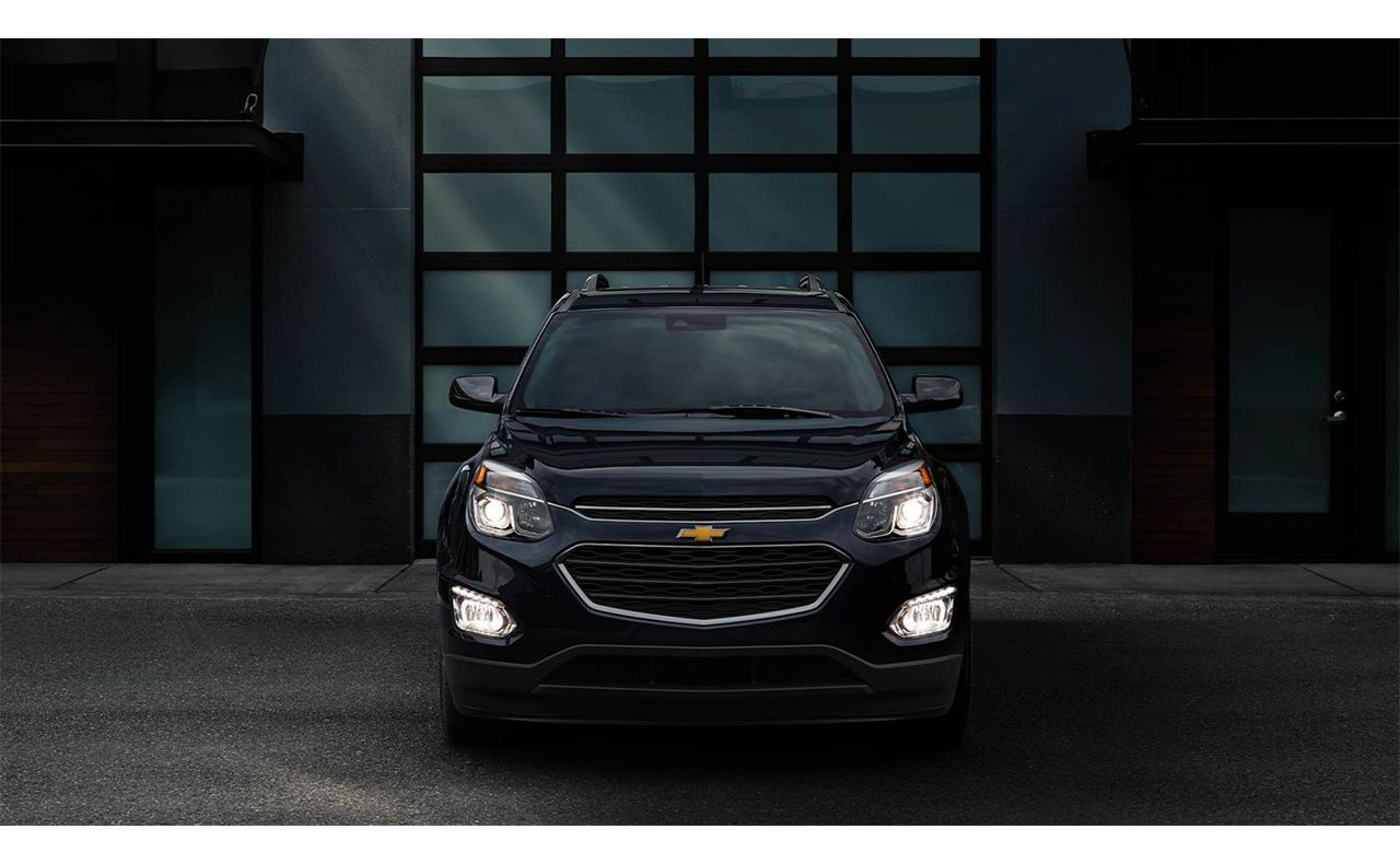 2016 chevrolet equinox exterior front view grille lights-compressor