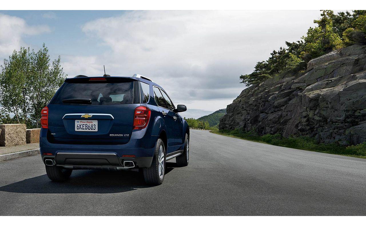 2016 chevrolet equinox exterior rear trunk tires-compressor