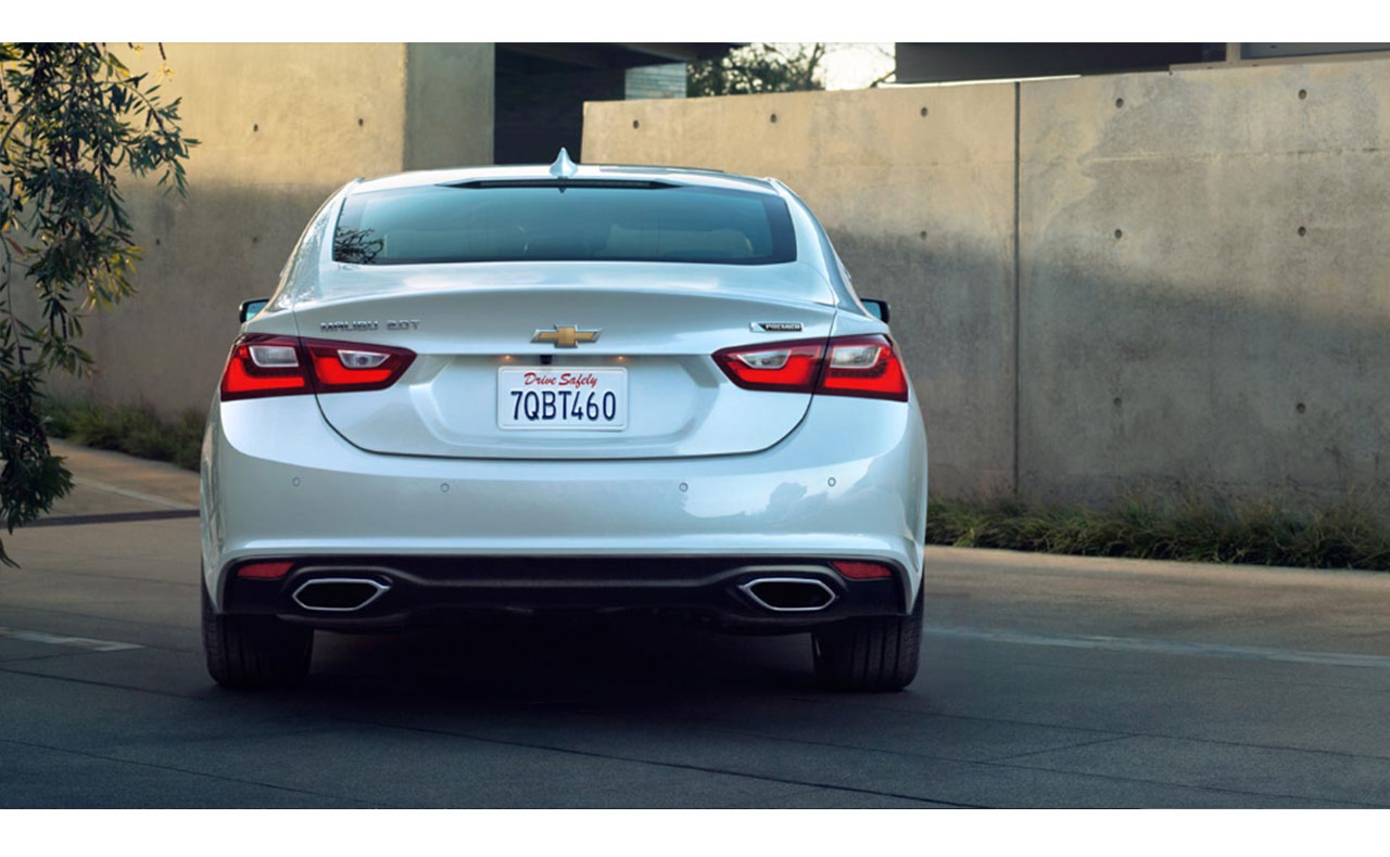 2016 chevrolet malibu exterior tail light trunk