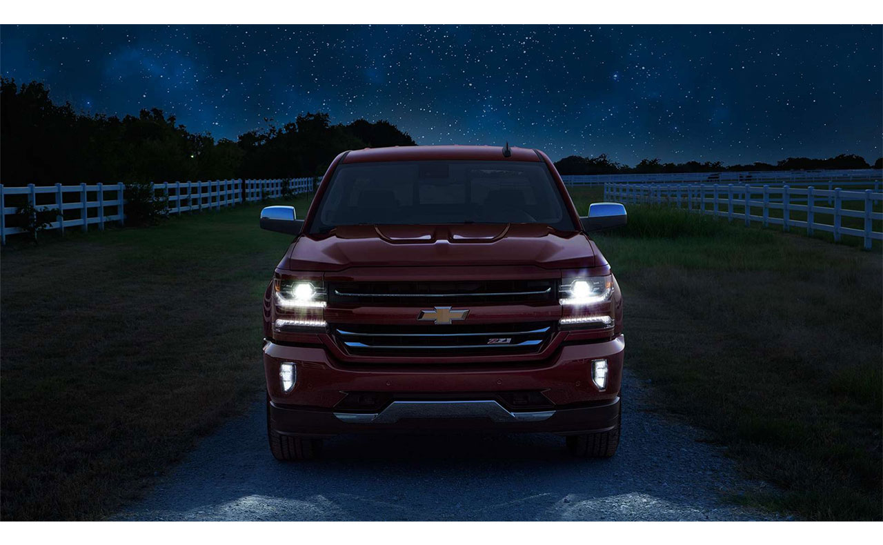 2016 chevrolet silverado sale exterior night headlights grille