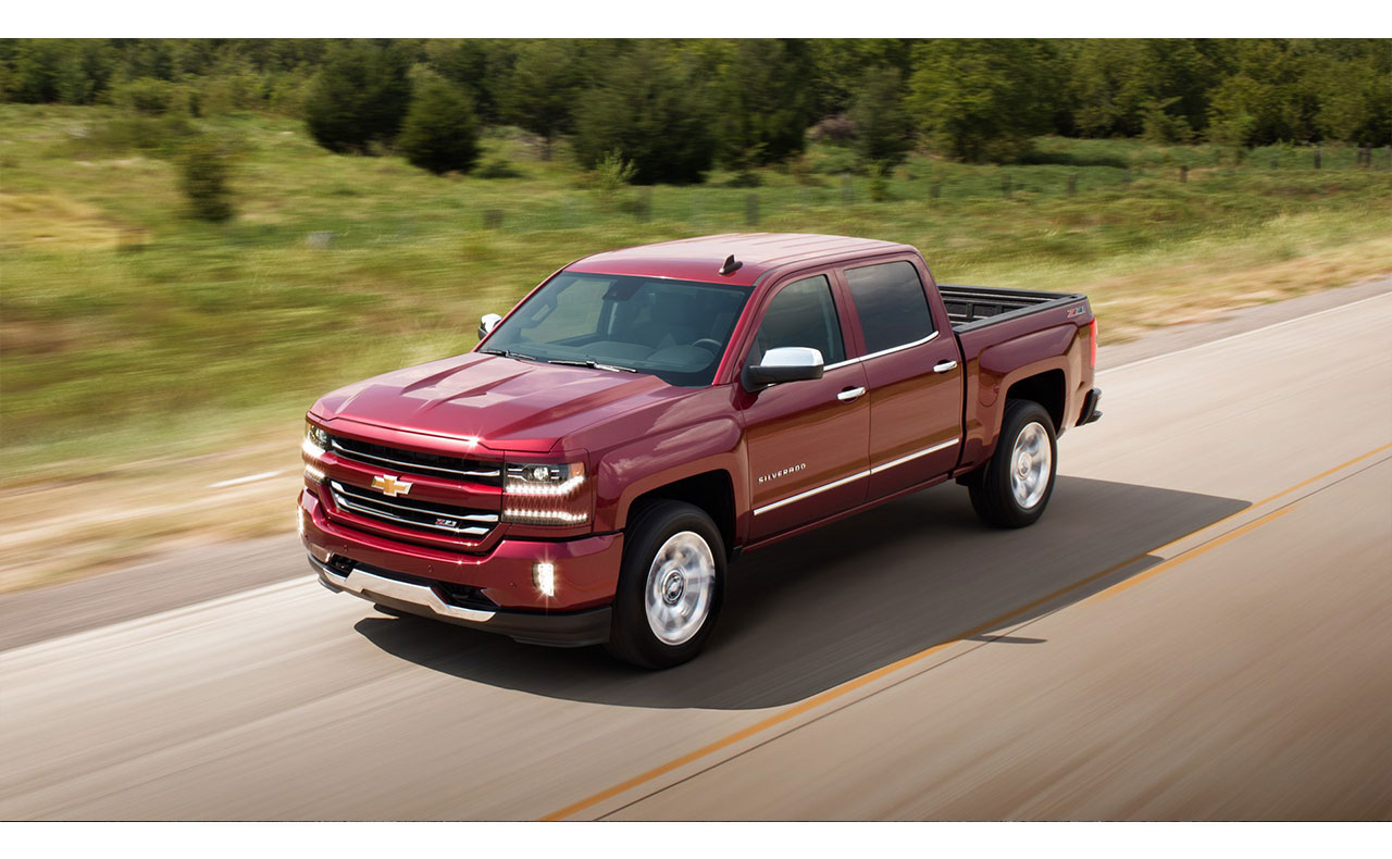 2016 chevrolet silverado sale exterior red motion hood