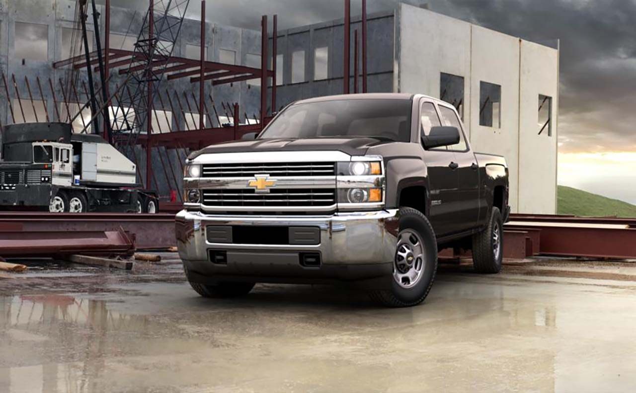 2016 chevrolet for front