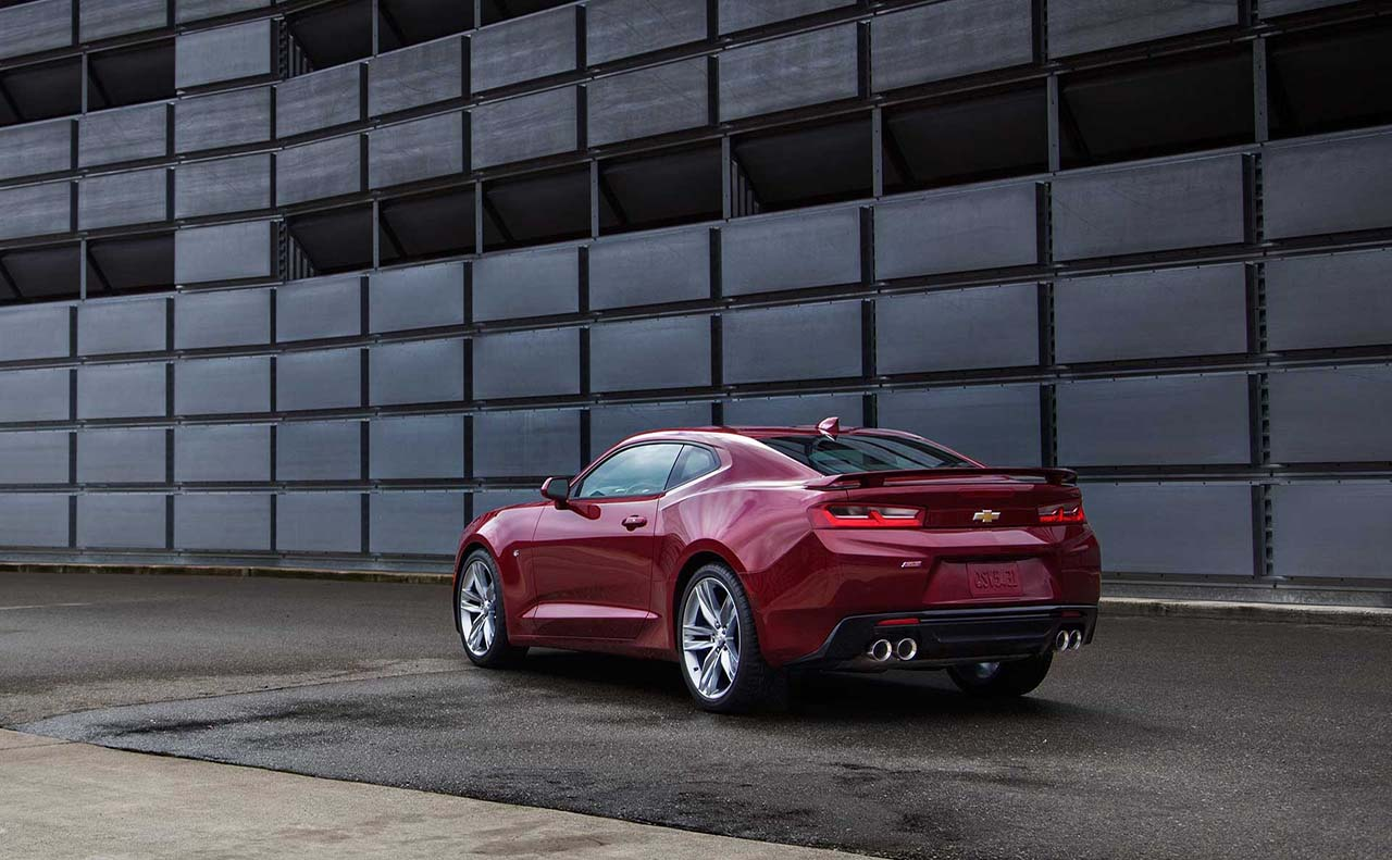 2017 chevrolet for camaro back