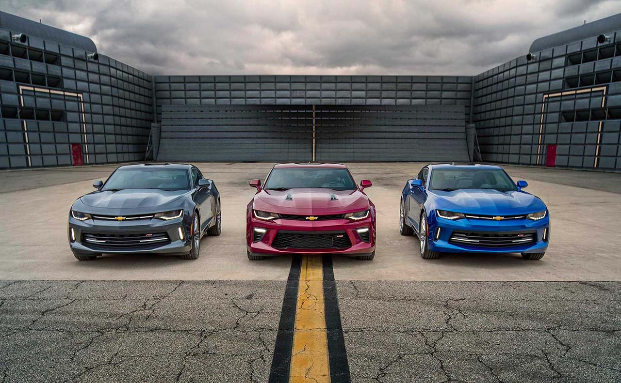 2017 chevrolet for camaro colors