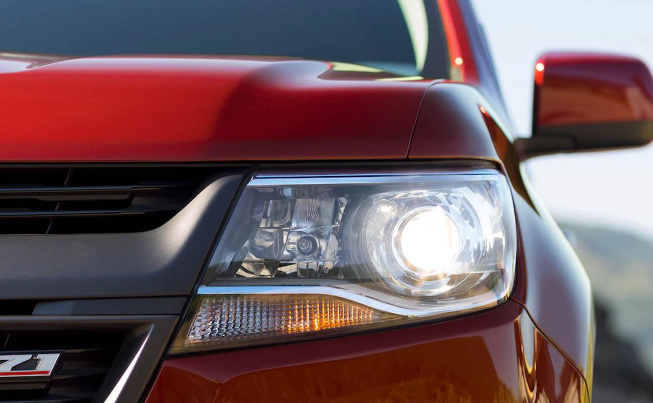 2017 chevrolet colorado exterior headlights