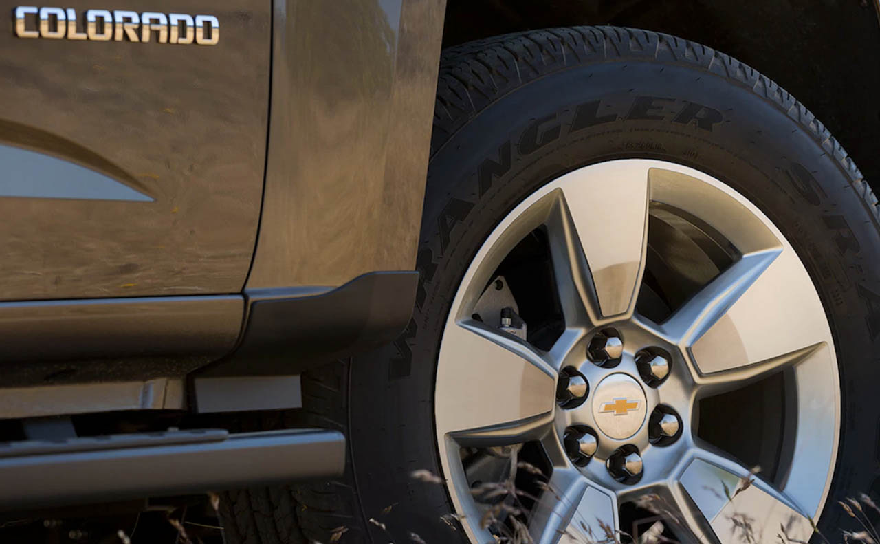 2017 chevrolet colorado exterior wheels