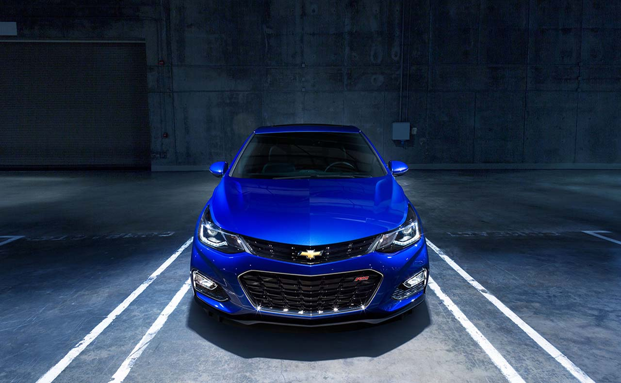 2017 chevrolet for cruze front