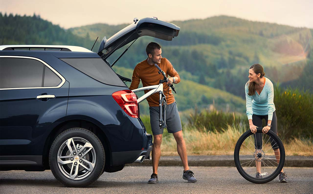 2017 chevrolet for equinox storage