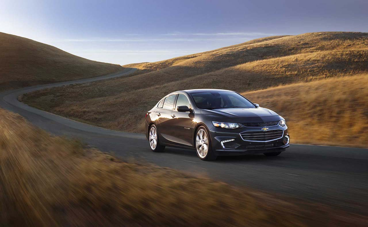 2017 chevrolet for malibu front