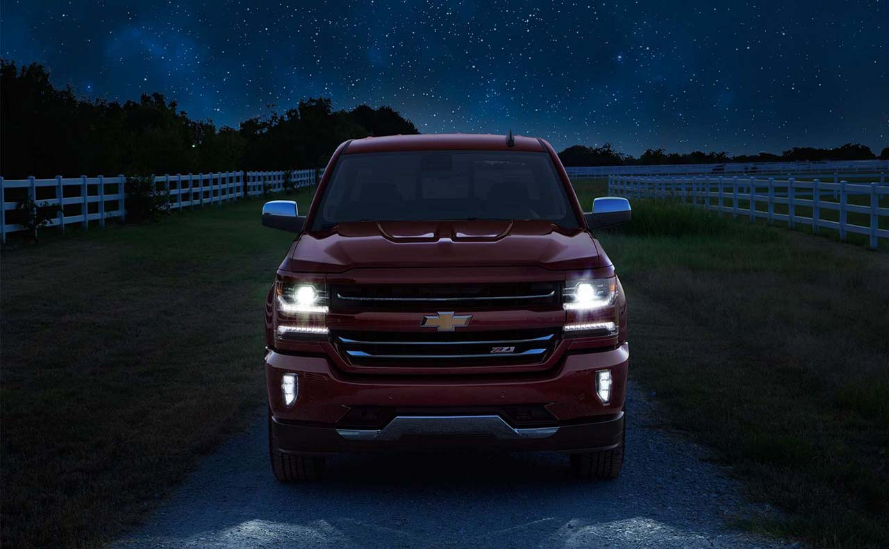 2017 chevrolet for front