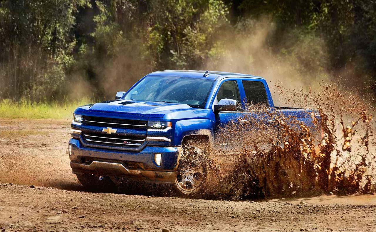 2017 chevrolet for mud