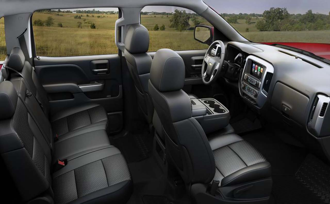 2017 chevy silverado interior. Black Bedroom Furniture Sets. Home Design Ideas