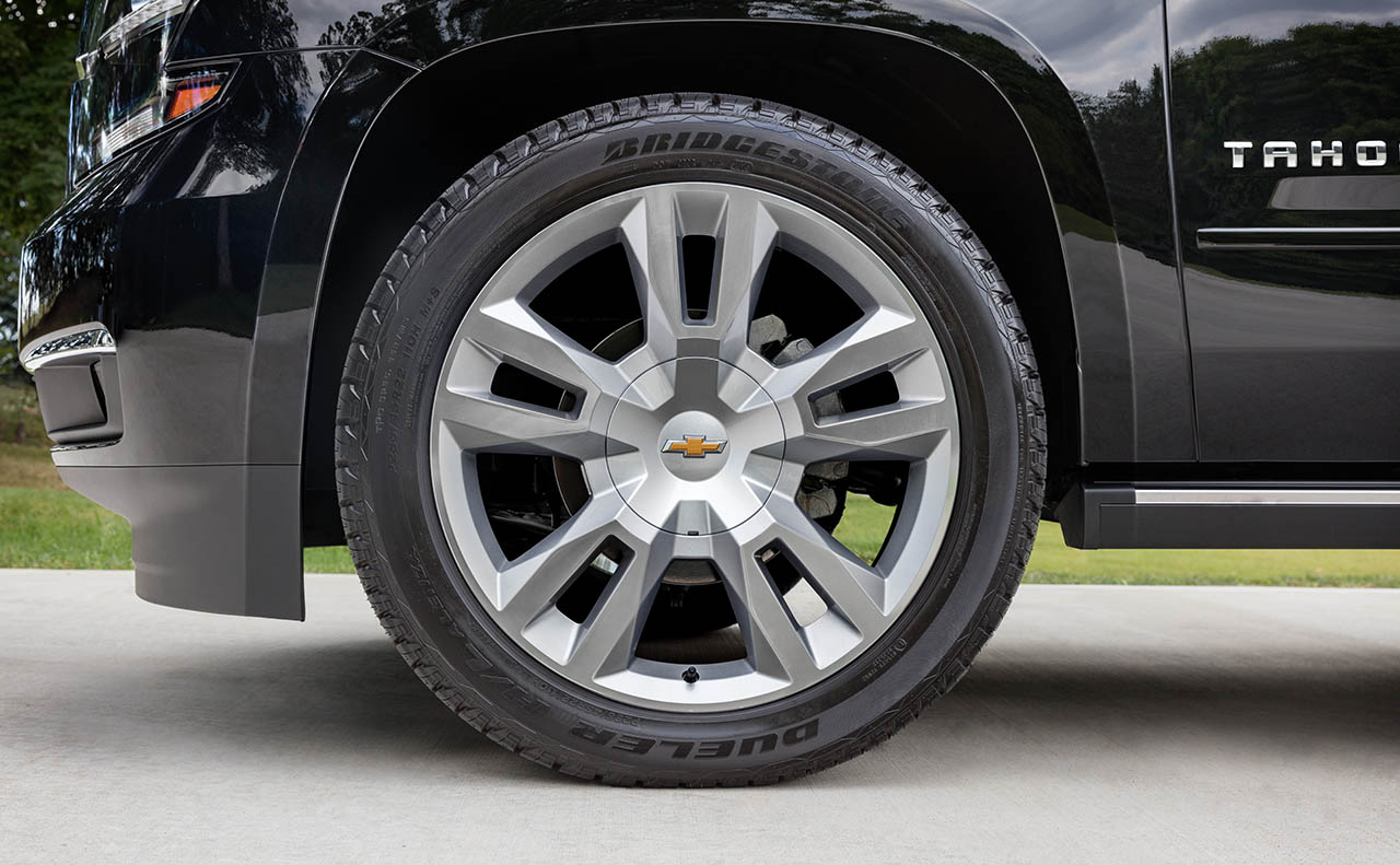 2017 chevrolet tahoe exterior wheels