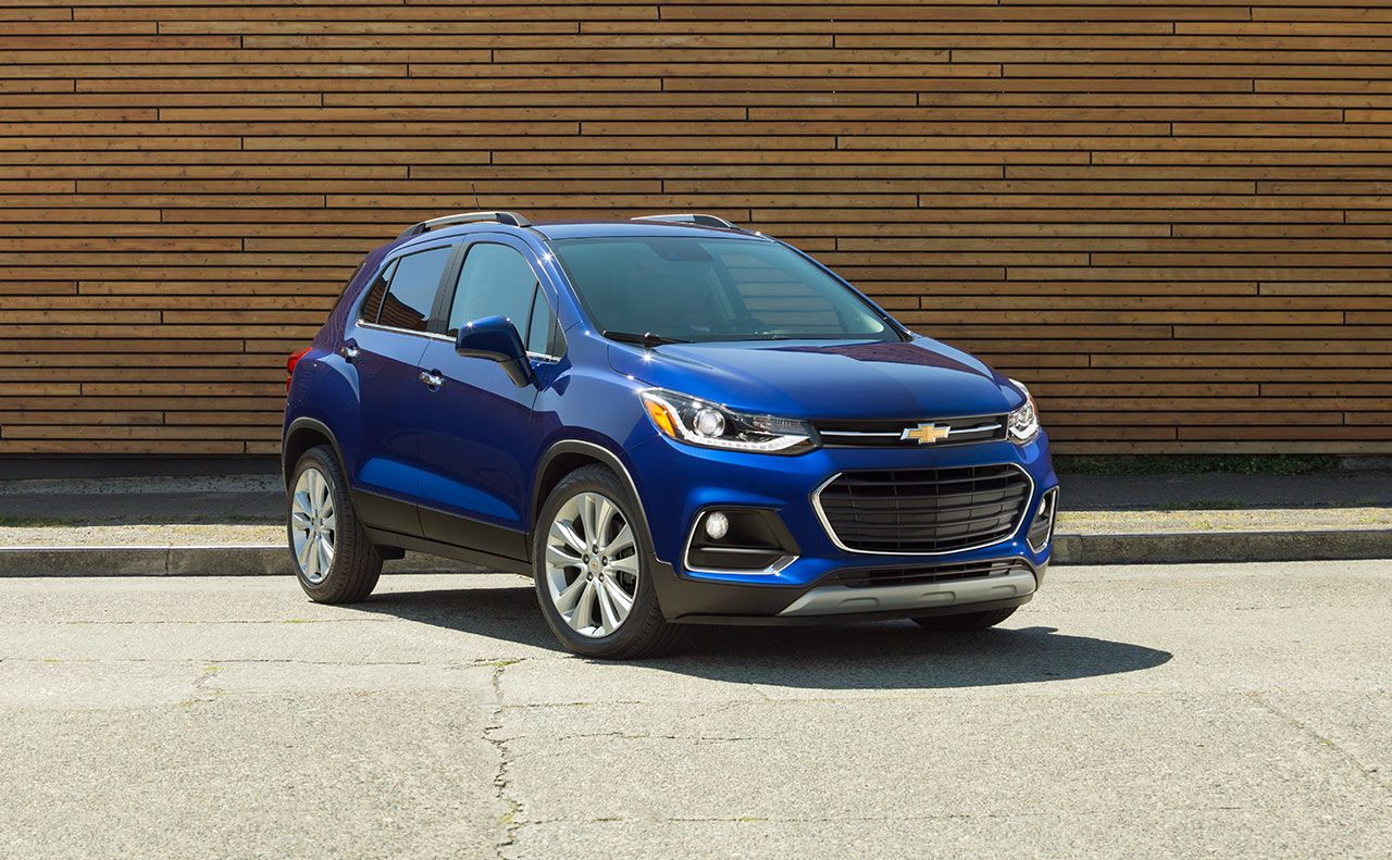 2017 chevrolet trax grille compact