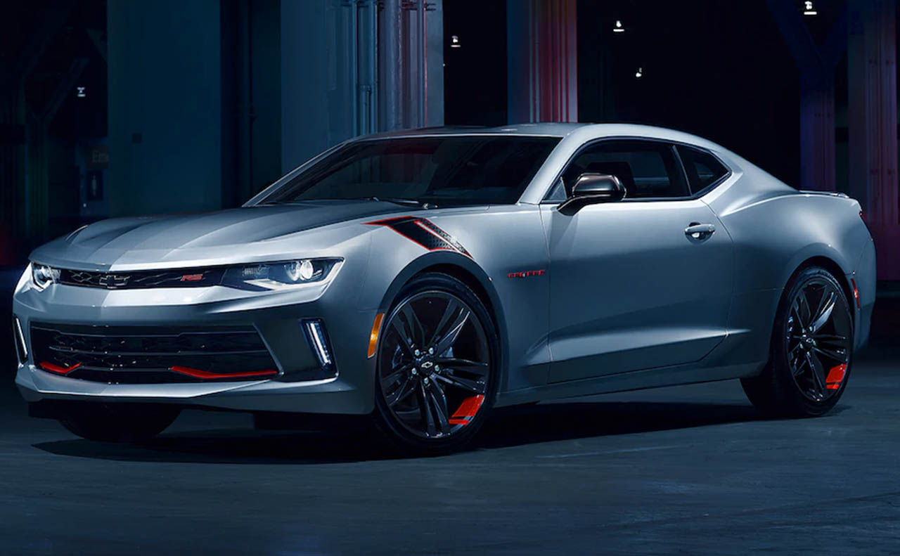 2018 chevrolet camaro exterior left side