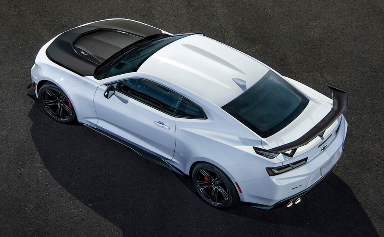 2018 chevrolet camaro exterior top white