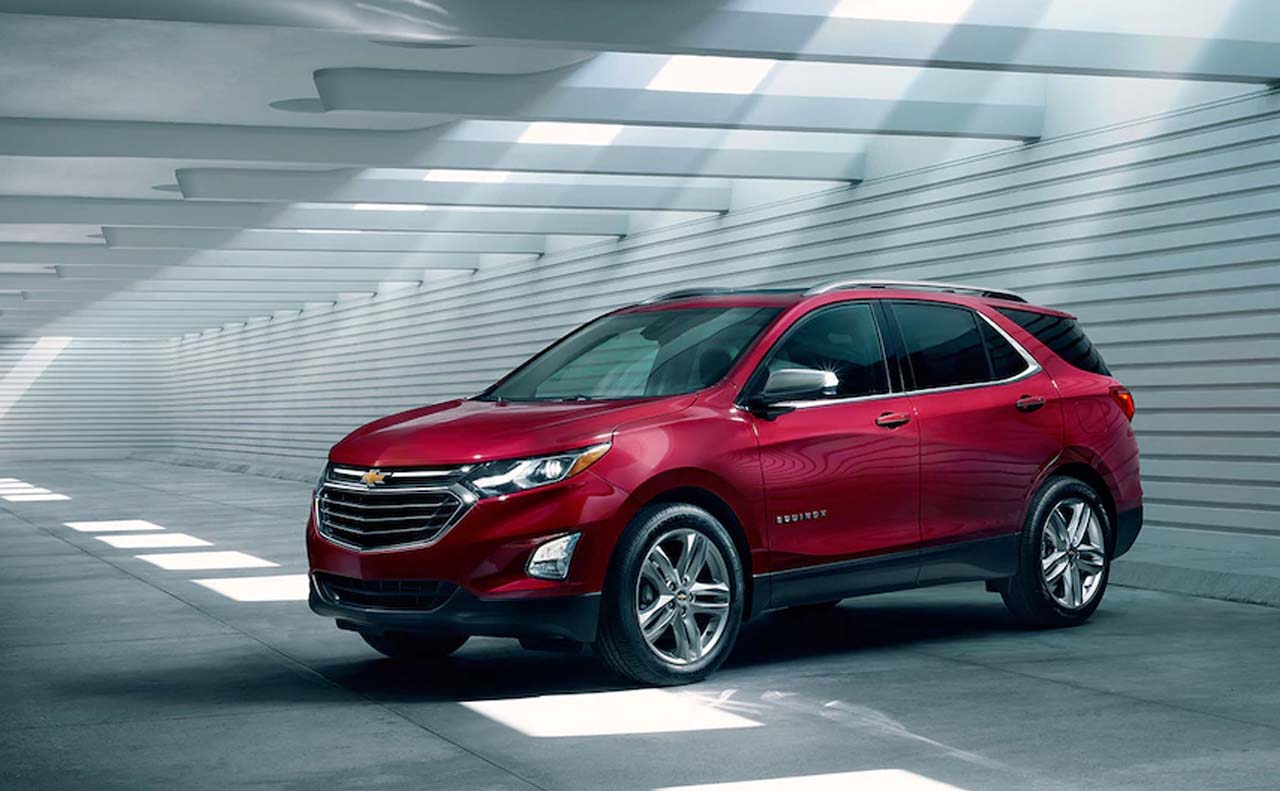 2018 chevrolet equinox exterior left