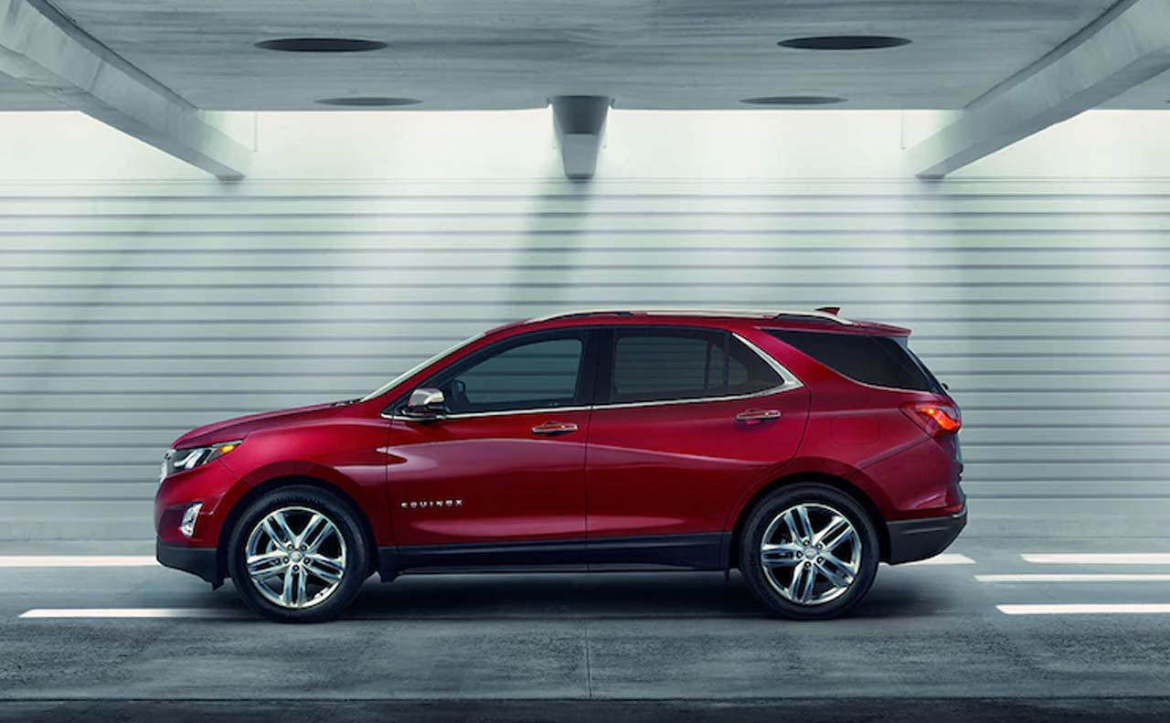 2018 chevrolet equinox exterior left side