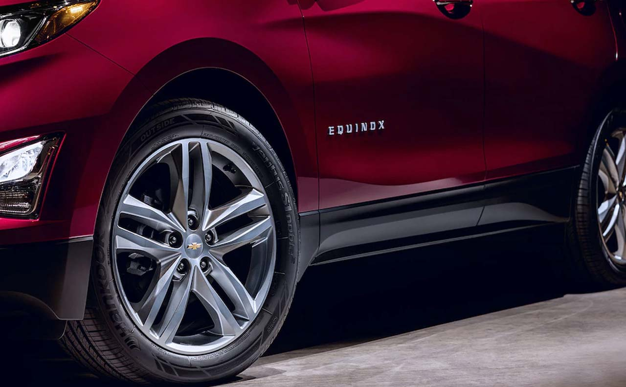 2018 chevrolet equinox exterior wheels