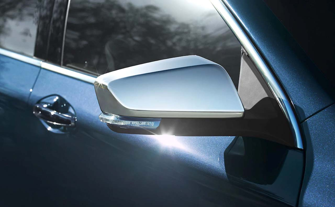 2018 chevrolet impala exterior side mirror