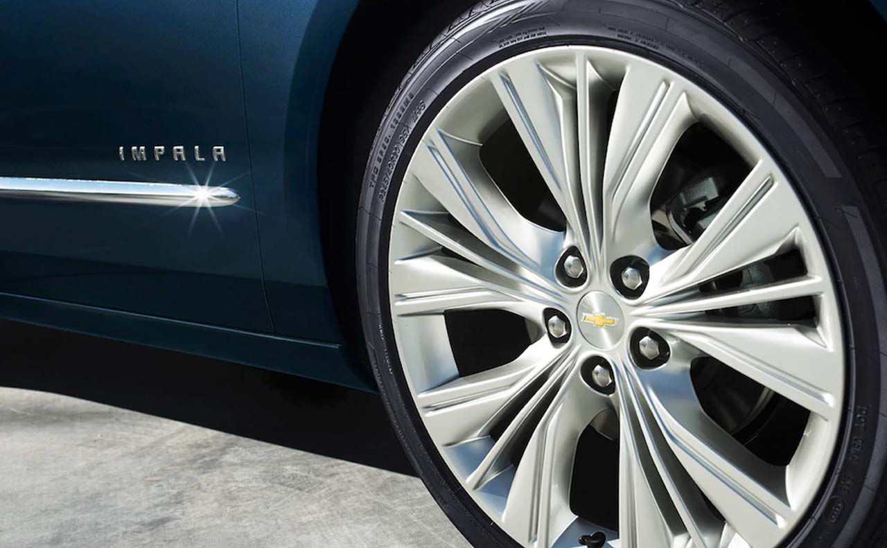2018 chevrolet impala exterior wheels