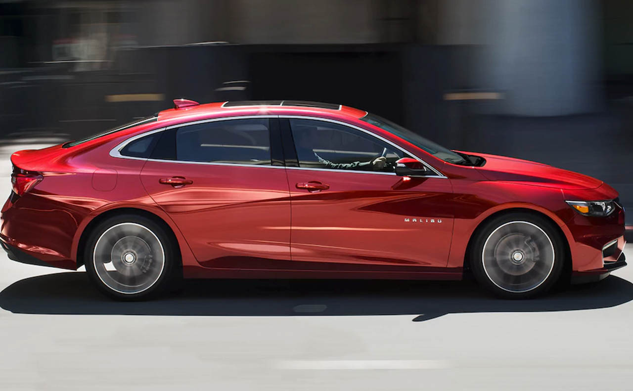 2018 chevrolet malibu exterior right side