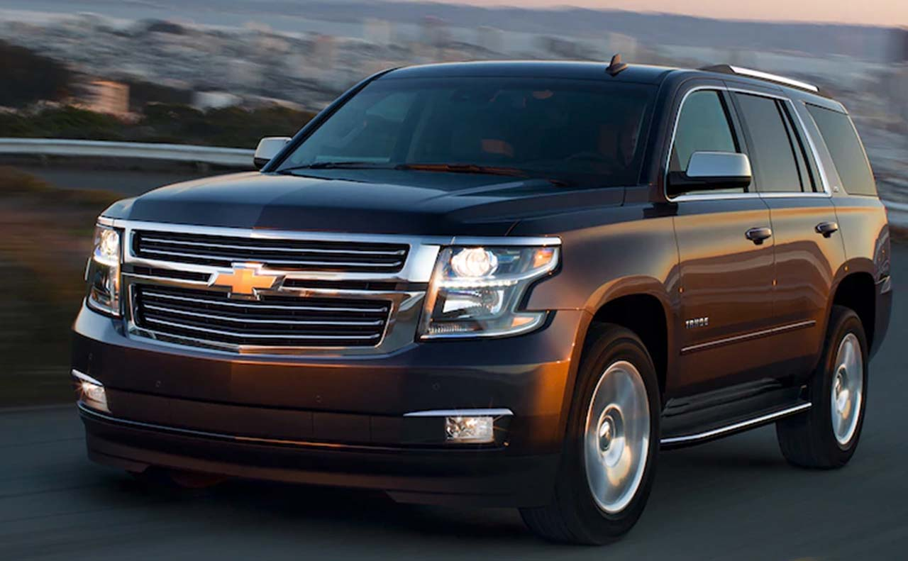 2018 chevrolet tahoe exterior left side