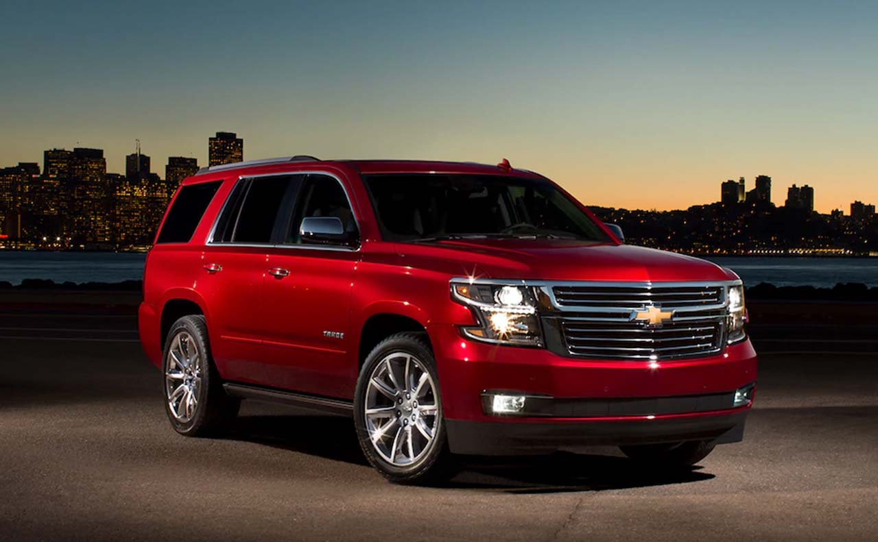 2018 chevrolet tahoe exterior right side