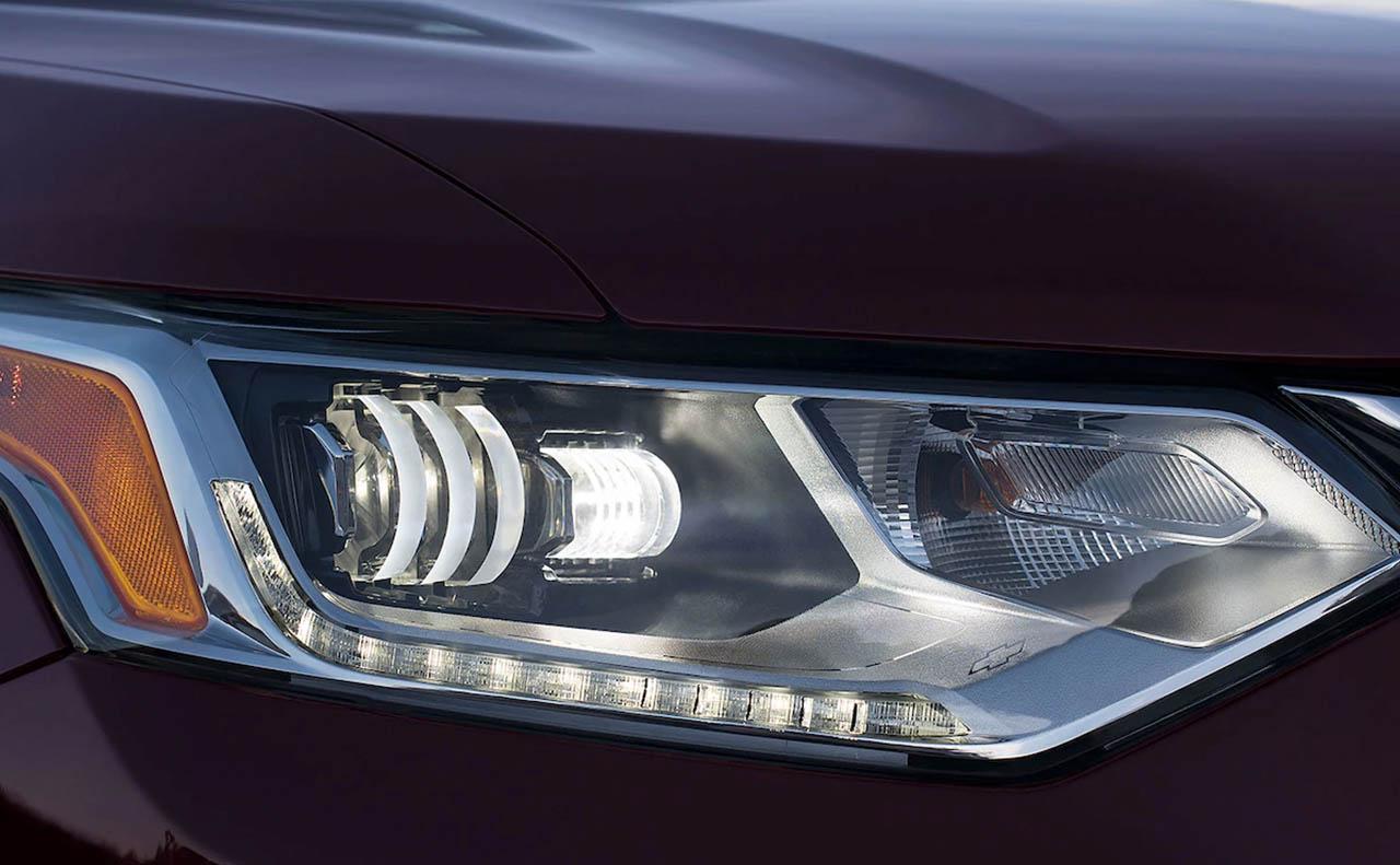 2018 chevrolet traverse exterior headlight