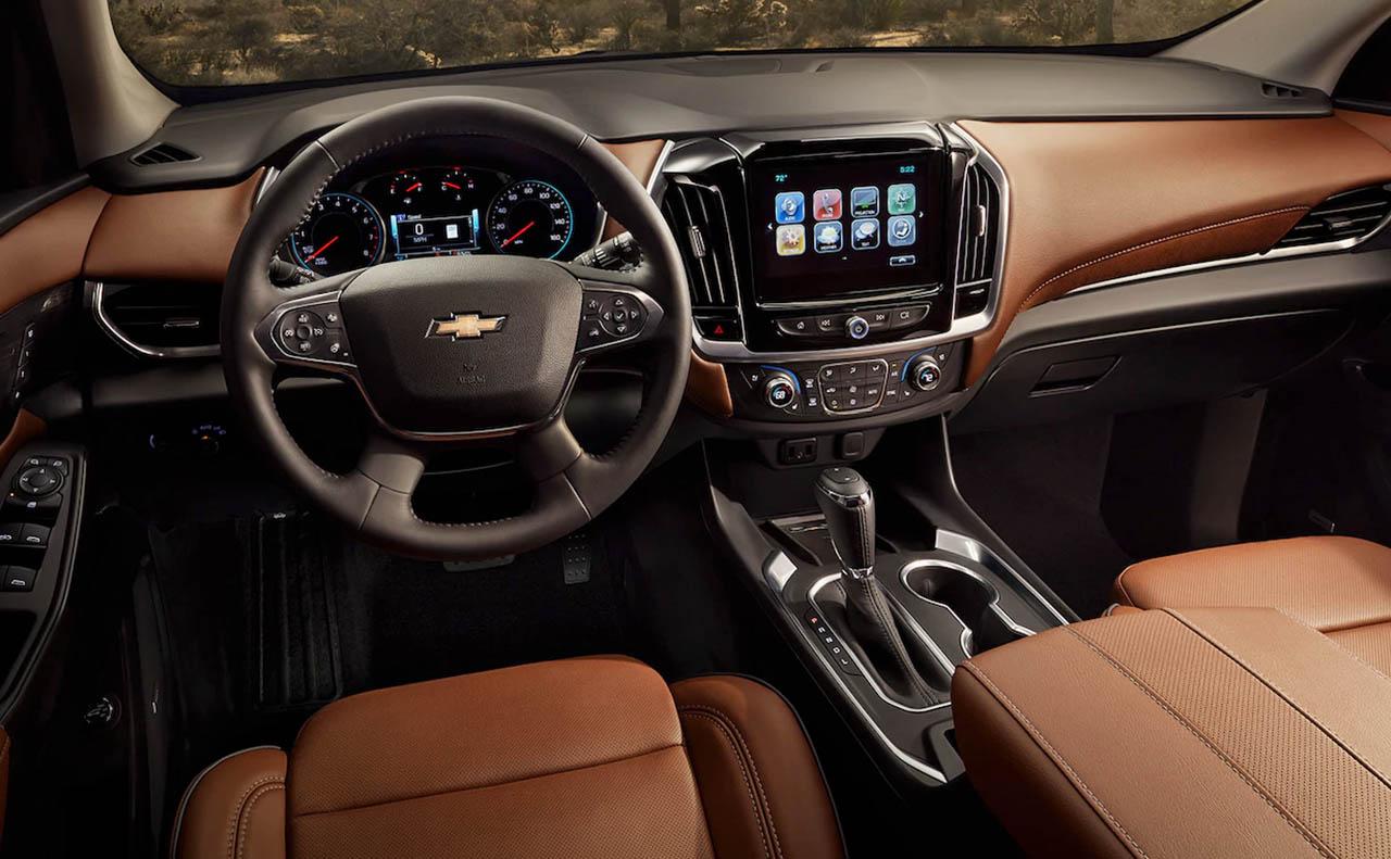 New Chevrolet Traverse For Sale Interior Dash